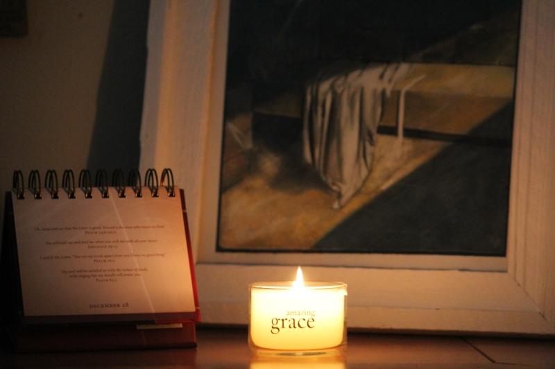 amazing grace, candle, light 003