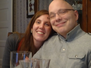 Shannon and Luke--in all things giving thanks!